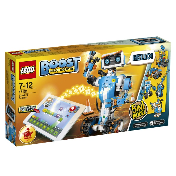 【送料無料】 レゴジャパン LEGO(レゴ) 17101 BOOST クリエイティブ・ボックス 【代金引換配送不可】