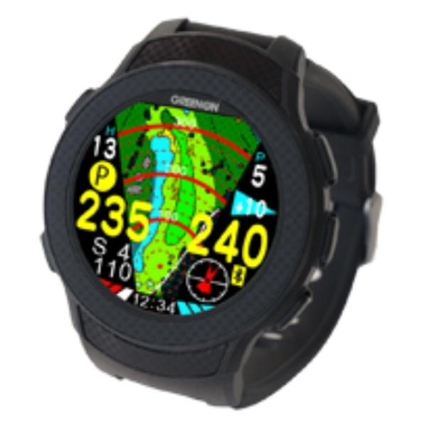 【送料無料】 MASA GPSゴルフナビゲーション THE GOLF WATCH A1(ブラック) G012