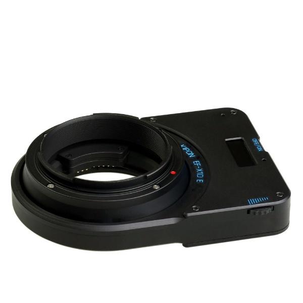 【送料無料】 キポン マウントアダプター Pentax67-X1D【ボディ側:ペンタックス67マウント/レンズ側:ハッセルブラッドX1D】[P67X1D]