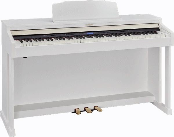 【標準設置費込み】 ローランド HP601-WHS 電子ピアノ ホワイト [88鍵盤]