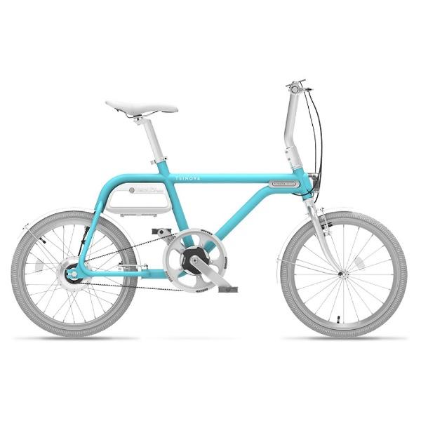 【送料無料】 TSINOVA 20型 電動アシスト自転車 TS01(空/シングルシフト) AR_TN20TS【組立商品につき返品不可】 【代金引換配送不可】