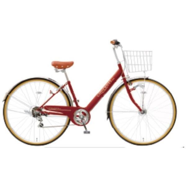 【送料無料】 アサヒサイクル 27型 自転車 ジオクロス276BG(クラシックレッド/外装6段変速) FV76BG【2018年モデル】【組立商品につき返品不可】 【代金引換配送不可】【メーカー直送・代金引換不可・時間指定・返品不可】