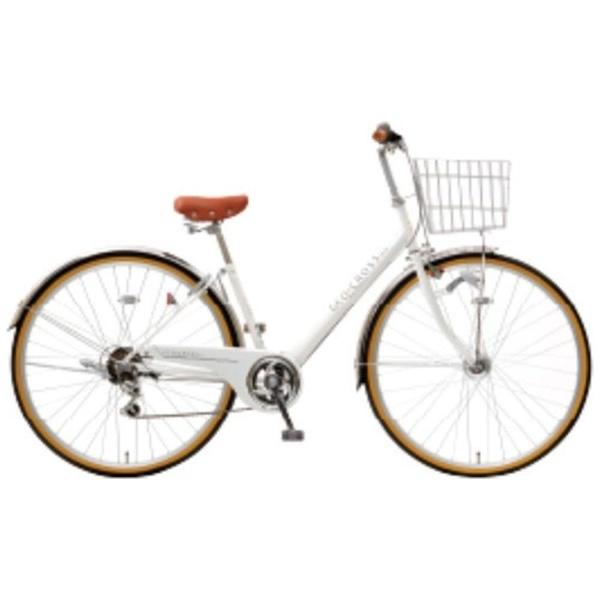【送料無料】 アサヒサイクル 27型 自転車 ジオクロス276BG(ホワイト/外装6段変速) FV76BG【2018年モデル】【組立商品につき返品不可】 【代金引換配送不可】【メーカー直送・代金引換不可・時間指定・返品不可】