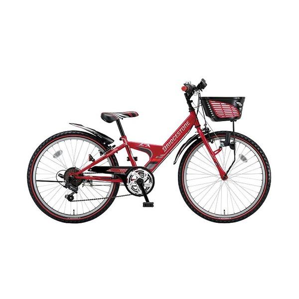 【送料無料】 ブリヂストン 22型 子供用自転車 エクスプレスジュニア (レッド/外装6段変速) EX26 【2018年モデル】【組立商品につき返品不可】 【代金引換配送不可】