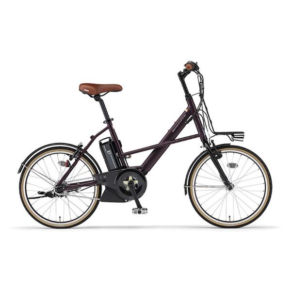 【送料無料】 ヤマハ YAMAHA 20型 電動アシスト自転車 PAS CITY-X(ボルドー/内装3段変速) 18PA20CX【2018年モデル】【組立商品につき返品不可】 【代金引換配送不可】