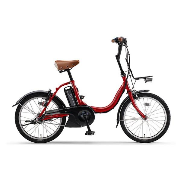 【送料無料】 ヤマハ YAMAHA 20型 電動アシスト自転車 PAS CITY-C(レッド/内装3段変速) 18PA20CC【2018年モデル】【組立商品につき返品不可】 【代金引換配送不可】