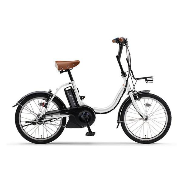 【送料無料】 ヤマハ 20型 電動アシスト自転車 PAS CITY-C(クリスタルホワイト/内装3段変速) 18PA20CC【2018年モデル】【組立商品につき返品不可】 【代金引換配送不可】