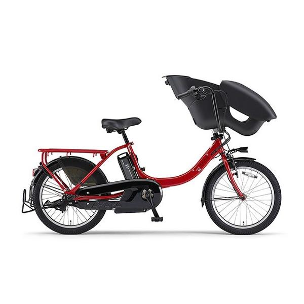 【送料無料】 ヤマハ YAMAHA 20型 電動アシスト自転車 PAS Kiss mini un(ビビッドレッド/内装3段変速) 18PA20KXL【2018年モデル】【組立商品につき返品不可】 【代金引換配送不可】