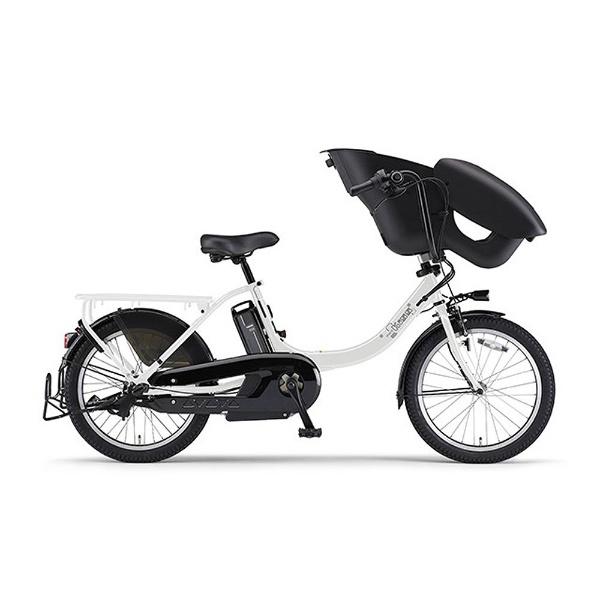 【送料無料】 ヤマハ YAMAHA 20型 電動アシスト自転車 PAS Kiss mini un(ピュアパールホワイト/内装3段変速) 18PA20KXL【2018年モデル】【組立商品につき返品不可】 【代金引換配送不可】