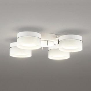【送料無料】 オーデリック フラット形LED電球用シャンデリア (~6畳) OC257017PC 調光・調色(昼白色~電球色)[OC257017PC]