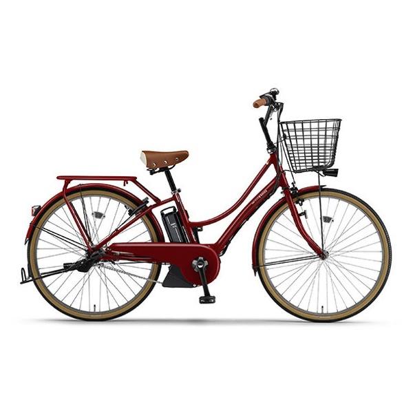 【送料無料】 ヤマハ YAMAHA 26型 電動アシスト自転車 PAS Ami(Aレッド/内装3段変速) 18PA26A【2018年モデル】【組立商品につき返品不可】 【代金引換配送不可】【メーカー直送・代金引換不可・時間指定・返品不可】
