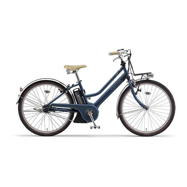【送料無料】 ヤマハ YAMAHA 26型 電動アシスト自転車 PAS mina(シルキーブルー/内装3段変速) 18PA26M【2018年モデル】【組立商品につき返品不可】 【代金引換配送不可】