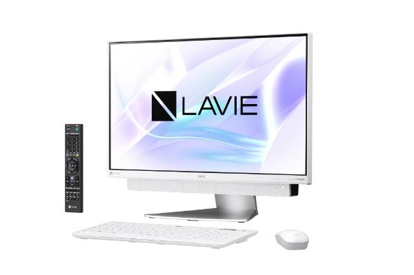 【送料無料】 NEC エヌイーシー LAVIE Desk All-in-one DA770/KAシリーズ 23.8型デスクトップPC[TVチューナー搭載・Office付き・Win10 Home・Core i7・HDD 3TB・メモリ 8GB]2018年春モデル PC-DA770KAW ホワイトシルバー [HDD 3TB], 満濃町 16fe1b67