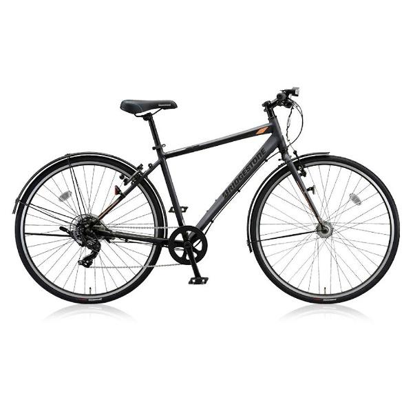 【送料無料】 ブリヂストン 27型 クロスバイク TB1(T.Xマットグレー/420サイズ《適応身長:146cm以上》) TB420【2018年モデル】【組立商品につき返品不可】 【代金引換配送不可】
