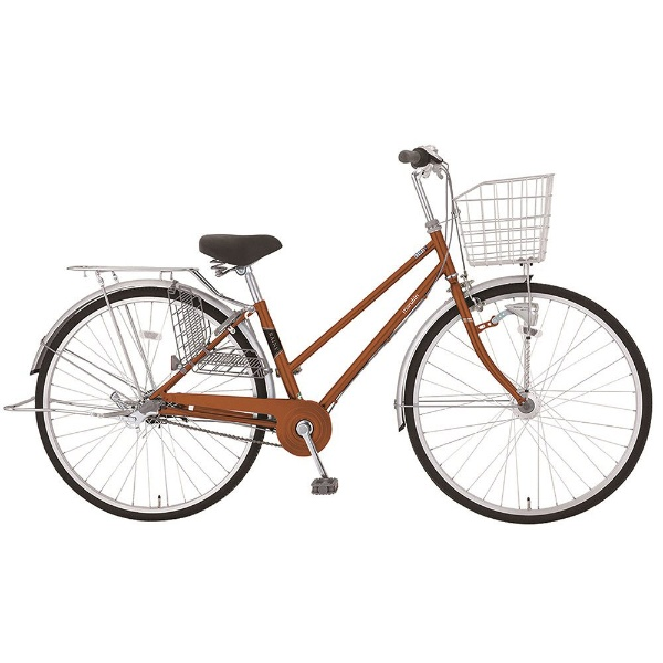 【送料無料】 MARUKIN 27型 自転車 レイニーシティHD 273-K(オレンジ/内装3段変速) MK-18-014【2018年モデル】【組立商品につき返品不可】 【代金引換配送不可】【メーカー直送・代金引換不可・時間指定・返品不可】