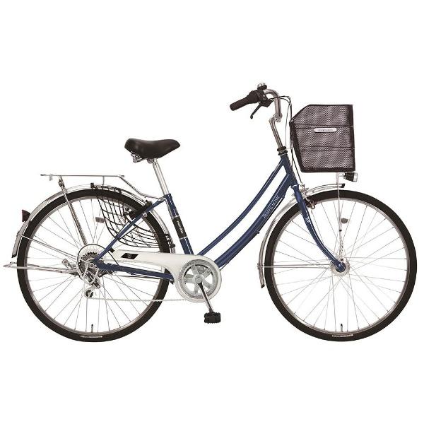 【送料無料】 MARUKIN 27型 自転車 トラフィックホーム 276-K(ダークブルー/外装6段変速) MK-18-030【2018年モデル】【組立商品につき返品不可】 【代金引換配送不可】【メーカー直送・代金引換不可・時間指定・返品不可】