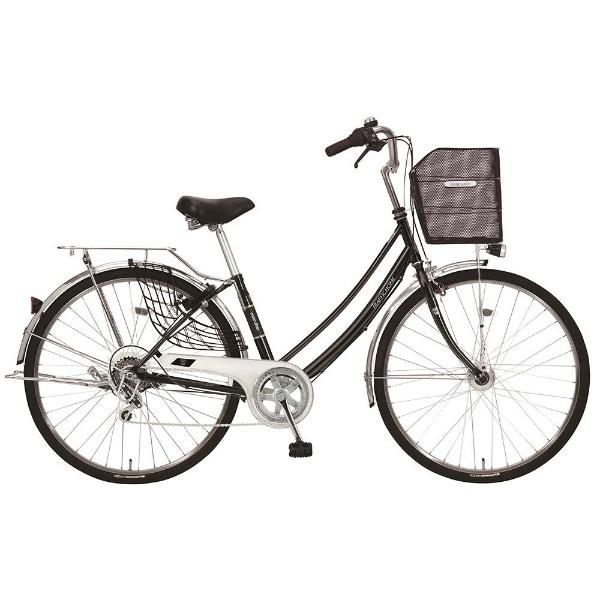 【送料無料】 MARUKIN 27型 自転車 トラフィックホーム 276-K(ブラック/外装6段変速) MK-18-030【2018年モデル】【組立商品につき返品不可】 【代金引換配送不可】【メーカー直送・代金引換不可・時間指定・返品不可】