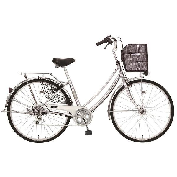 【送料無料】 MARUKIN 27型 自転車 トラフィックホーム 276-K(シルバー/外装6段変速) MK-18-030【2018年モデル】【組立商品につき返品不可】 【代金引換配送不可】【メーカー直送・代金引換不可・時間指定・返品不可】