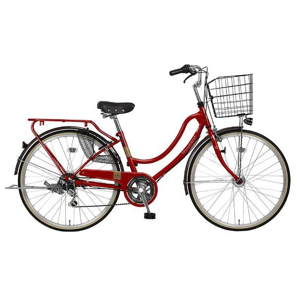 【送料無料】 MARUKIN 26型 自転車 フロートミックス 266-K(レッド/外装6段変速) MK-18-032【2018年モデル】【組立商品につき返品不可】 【代金引換配送不可】【メーカー直送・代金引換不可・時間指定・返品不可】