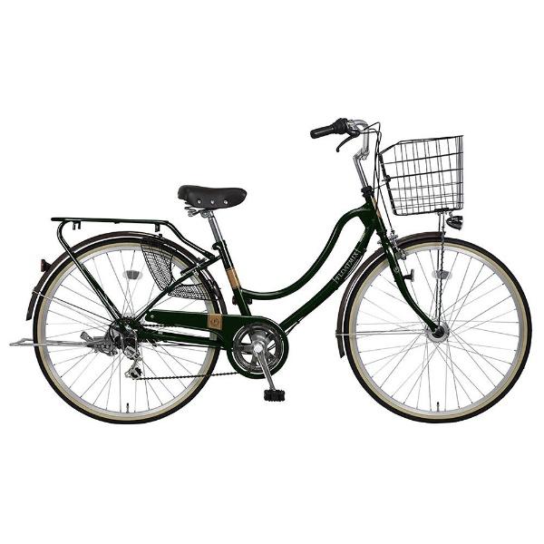 【送料無料】 MARUKIN 26型 自転車 フロートミックス 266-K(d-グリーン/外装6段変速) MK-18-032【2018年モデル】【組立商品につき返品不可】 【代金引換配送不可】【メーカー直送・代金引換不可・時間指定・返品不可】