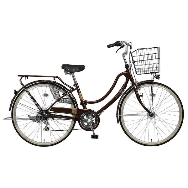 【送料無料】 MARUKIN 26型 自転車 フロートミックス 266-K(dーブラウン/外装6段変速) MK-18-032【2018年モデル】【組立商品につき返品不可】 【代金引換配送不可】【メーカー直送・代金引換不可・時間指定・返品不可】