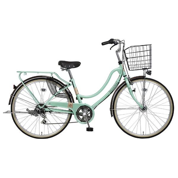 【送料無料】 MARUKIN 26型 自転車 フロートミックス 266-K(l-グリーン/外装6段変速) MK-18-032【2018年モデル】【組立商品につき返品不可】 【代金引換配送不可】【メーカー直送・代金引換不可・時間指定・返品不可】