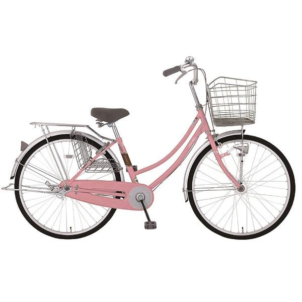 【送料無料】 MARUKIN 26型 自転車 レイニーホームHD 263-K(ピンク/内装3段変速) MK-18-011【2018年モデル】【組立商品につき返品不可】 【代金引換配送不可】【メーカー直送・代金引換不可・時間指定・返品不可】