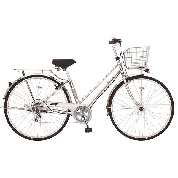 【送料無料】 MARUKIN 27型 自転車 トラフィックシティ 276-K(シルバー/外装6段変速) MK-18-031【2018年モデル】【組立商品につき返品不可】 【代金引換配送不可】【メーカー直送・代金引換不可・時間指定・返品不可】