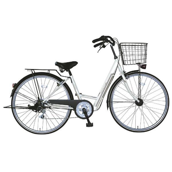 【送料無料】 MARUKIN 27型 自転車 レアルタホーム 276-K(ホワイト/外装6段変速) MK-18-026【2018年モデル】【組立商品につき返品不可】 【代金引換配送不可】【メーカー直送・代金引換不可・時間指定・返品不可】