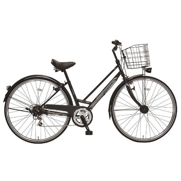 【送料無料】 MARUKIN 27型 自転車 レアルタシティ 276-K(m-ブラック/外装6段変速) MK-18-027【2018年モデル】【組立商品につき返品不可】 【代金引換配送不可】【メーカー直送・代金引換不可・時間指定・返品不可】