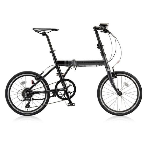 【送料無料】 ブリヂストン 20型 折りたたみ自転車 CYLVA F8F(マット&グロスブラック/8段変速) VF8F20【2018年モデル】【組立商品につき返品不可】 【代金引換配送不可】