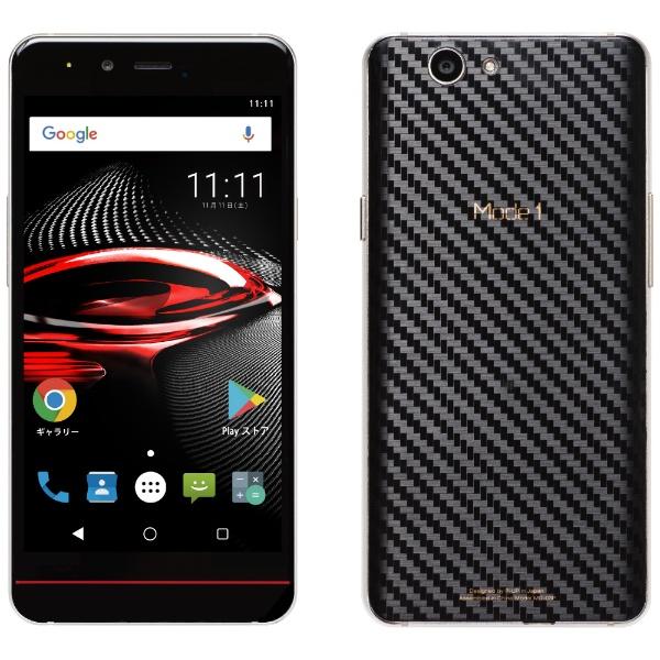 【送料無料】 PUP Mode1 RS ブラック 5.0型・3GB/32GB microSIM SIMフリースマートフォン[MD03PK]