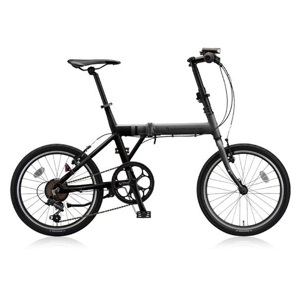 【送料無料】 ブリヂストン 20型 折りたたみ自転車 CYLVA F6F(マット&グロスブラック/6段変速) VF6F20【2018年モデル】【組立商品につき返品不可】 【代金引換配送不可】