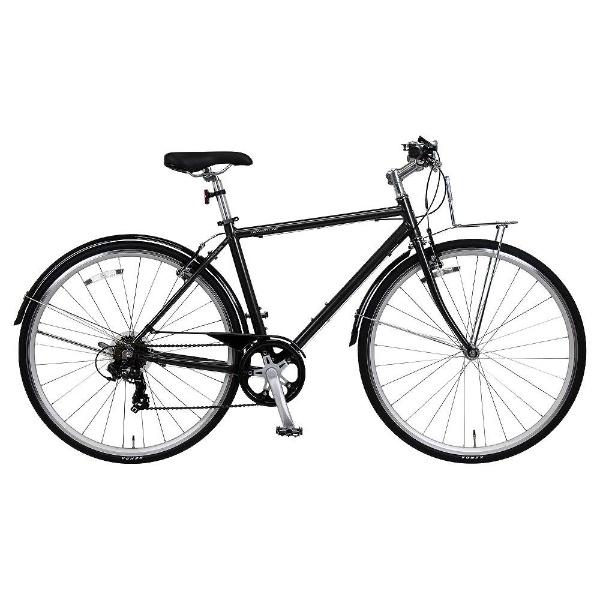 【送料無料】 ホダカ 700C型 クロスバイク オネストワンAL-K(ブラック/7段変速《適応身長:160cm以上》)【組立商品につき返品不可】 【代金引換配送不可】【メーカー直送・代金引換不可・時間指定・返品不可】