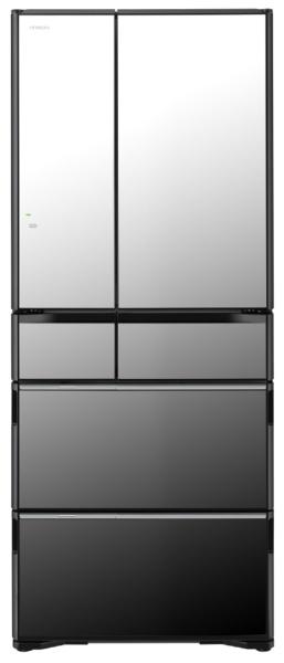 【標準設置費込み】 日立 HITACHI 《基本設置料金セット》R-WX62J-X 冷蔵庫 真空チルド WXシリーズ クリスタルミラー [6ドア /観音開きタイプ /615L]