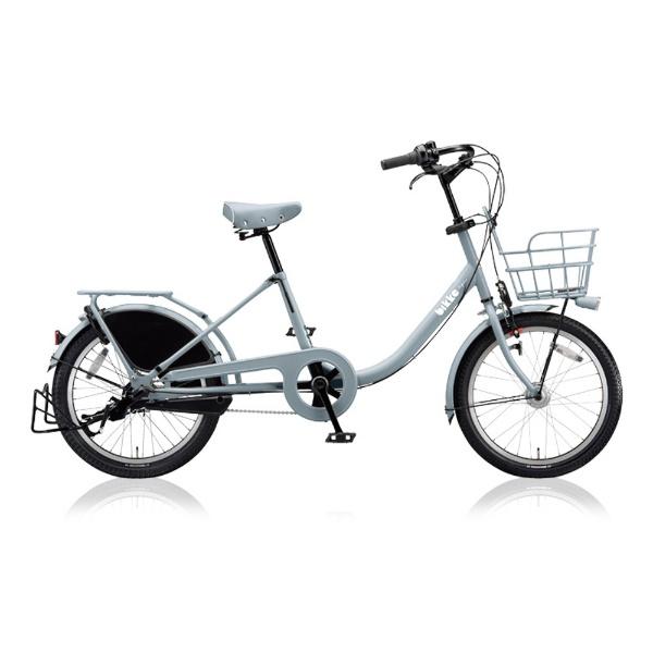 【送料無料】 ブリヂストン 20型 自転車 bikke MOB b(E.XBKブルーグレー/内装3段変速) BM03UT【2018年モデル】【組立商品につき返品不可】 【代金引換配送不可】