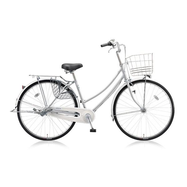 【送料無料】 ブリヂストン 27型 自転車 スクリッジ W型(M.XRシルバー/シングルシフト) SR70WT 【2018年/点灯虫モデル】【組立商品につき返品不可】 【代金引換配送不可】