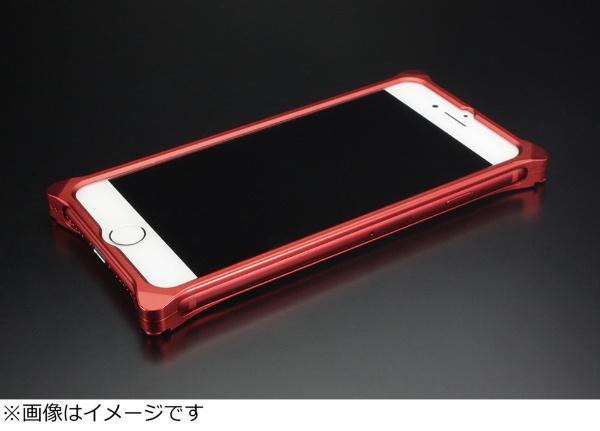 【送料無料】 GILDDESIGN iPhone 8 Plus用 ソリッドバンパー マットレッド GI-412MR