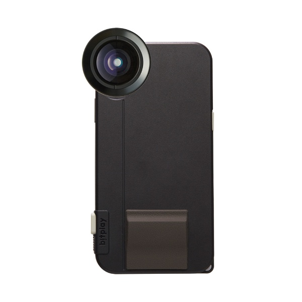 【送料無料】 BITPLAY SNAP! X(カラー:ブラック) Photographer Set(物理シャッターボタン搭載iPhoneX用ケース + プレミアムHDワイドレンズ)