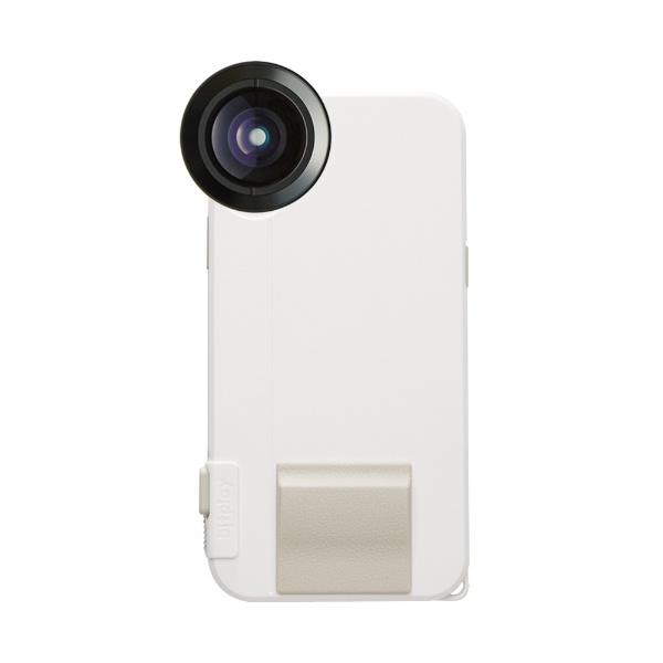 【送料無料】 BITPLAY SNAP! X(カラー:ホワイト) Photographer Set(物理シャッターボタン搭載iPhoneX用ケース + プレミアムHDワイドレンズ)