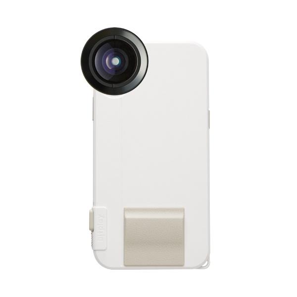 【送料無料】 BITPLAY SNAP! X(カラー:ホワイト) Photographer Set(物理シャッターボタン搭載iPhoneX用ケース + プレミアムHD望遠レンズ)