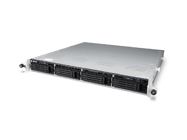 【送料無料】 BUFFALO バッファロー ネットワークHDD 12TB[有線LAN・Mac/Win] Windows Storage Server 2016 Standard Edition搭載 4ドライブ ラックマウント WS5400RN12S6 シルバー