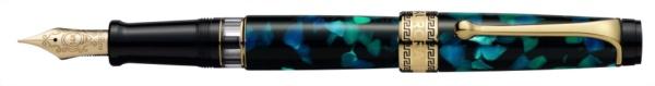 【送料無料】 アウロラ [万年筆]オプティマ 996VFPF グリーン 996VFPF