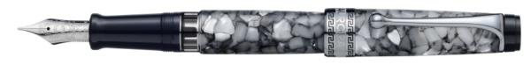 【送料無料】 アウロラ [万年筆]オプティマ 996CGFPF ブラックパール 996CGFPF