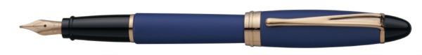【送料無料】 アウロラ [万年筆]イプシロン・サテン・ローズゴールド B10PBFPEF ブルー B10PBFPEF