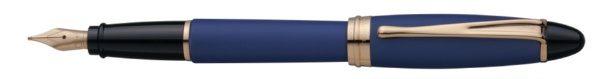 【送料無料】 アウロラ [万年筆]イプシロン・サテン・ローズゴールド B10PBFPF ブルー B10PBFPF