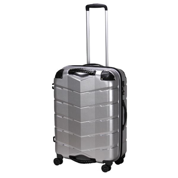 【送料無料】 シフレ USBポート付きスーツケースTRI2066-58ヘアラインSV