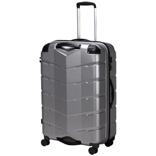 【送料無料】 シフレ USBポート付きスーツケースTRI2066-67ヘアラインSV 【メーカー直送・代金引換不可・時間指定・返品不可】