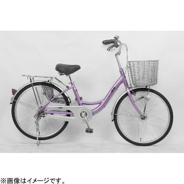 【送料無料】 サイモト自転車 22型 自転車 アネモネライト(パープル/シングルシフト) FL-W220RAL-HD-BAA【組立商品につき返品不可】 【代金引換配送不可】【メーカー直送・代金引換不可・時間指定・返品不可】