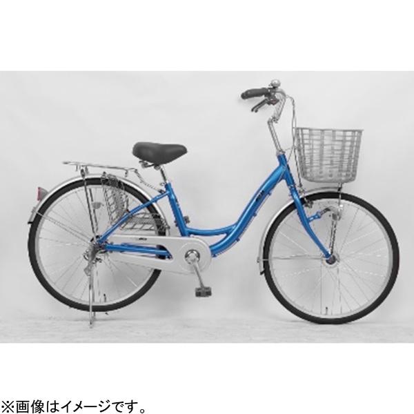 【送料無料】 サイモト自転車 24型 自転車 アネモネライト(ライトブルー/シングルシフト) FL-W240RAL-HD-BAA【組立商品につき返品不可】 【代金引換配送不可】【メーカー直送・代金引換不可・時間指定・返品不可】
